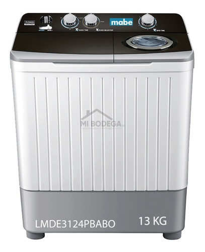 Lavadora Mabe Doble Poso Doble Motor 7kg, 13kg, 16kg