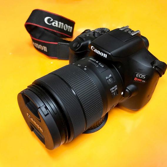 Câmera Canon T6 + Lente 18-135mm Usm