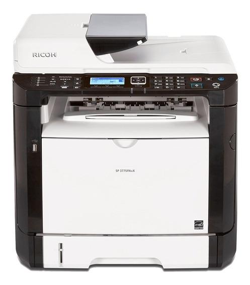 Impressora Ricoh Sp377sfnwx   Multifuncional