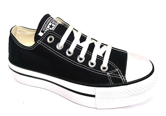 Tênis All Star Ct As Plataform Converse Plataforma 4,5 Cm