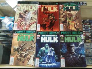 Comic Marvel Planeta Hulk Varios Numeros