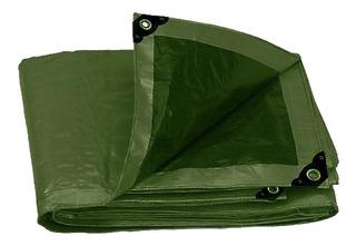 Lona Uso Rudo Verde Olivo 6 X 9 M Truper A16378 Envío Gratis