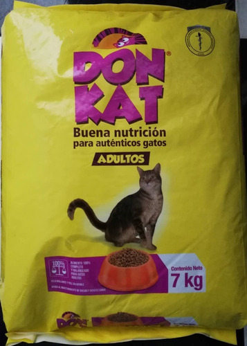 Don Kat Adulto 7kg + Donkat Gatito 7 K - kg a $7429
