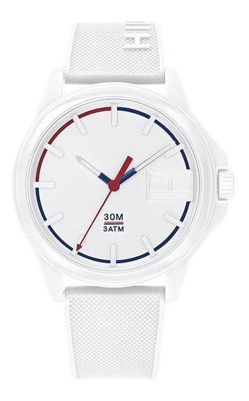 Reloj Tommy Hilfiger Caballero Color Blanco 1791623 - S007