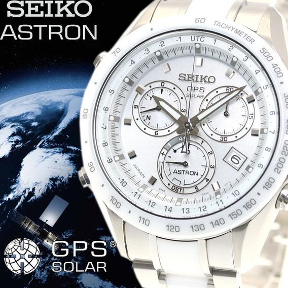 Seiko Astron 8x82-0ag0-1 Gps Solar Cerâmica