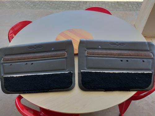 Galaxie Landau 2 Forros  Laterais Porta Originais C/ Frisos