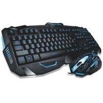 Teclado E Mouse Gamer V-100 Super Xblaster Teclas Iluminadas