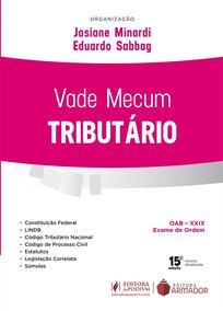 Vade Mecum Tributario - 15ª Edição 2019 - Minardi