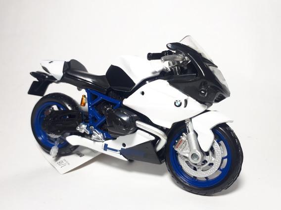 Miniatura Bmw Hp2 Sport Maisto 1.18 Coleção Moto Hobbies