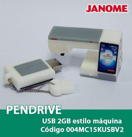 Pen Drive 2gb Janome 004mc15kusbv2