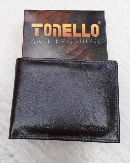 Carteira Masculina Couro Tonello 4031