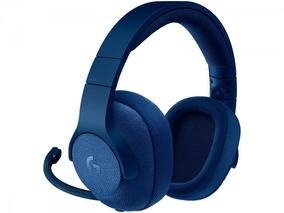 Headset Logitech G433 Surround 7.1 Gamer P2/usb Azul