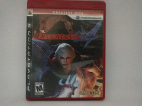 Jogo Ps3 Devil May Cry Mídia Física