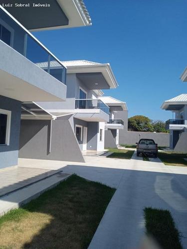 Imagem 1 de 15 de Casa Em Condomínio Para Venda Em Saquarema, Itaúna, 3 Dormitórios, 3 Suítes, 3 Banheiros, 1 Vaga - 3161_2-1165374