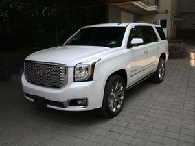 Gmc Yukon 6.2 Denali 8 Vel Awd At 2016 (impecable)