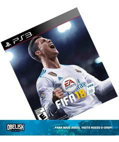 Jogo Fifa 18 Ps3 Playstation 3 Midia Digital Psn Store Pt-br