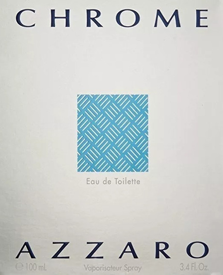 Perfume Importado Masculino Azzaro Chrome 100ml Original