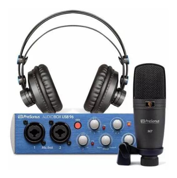 Kit Home Studio Presonus Audiobox Com Software Studio One