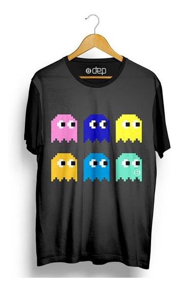 Camiseta Dep Jogos Cinza