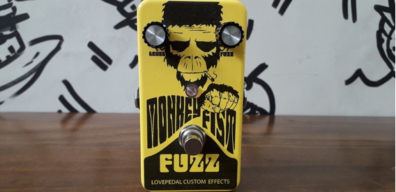 Pedal Monkey Fist Fuzz Lovepedal Love Pedal Made In Usa