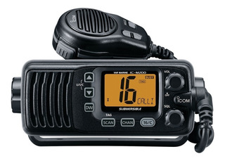 Radio Móvil Marino Icom Tx: 156.025/162.000 Mhz, Rx: 156.025