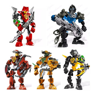 Guerreros Star Soldier Tipo Lego Lote De 5 Guerreros