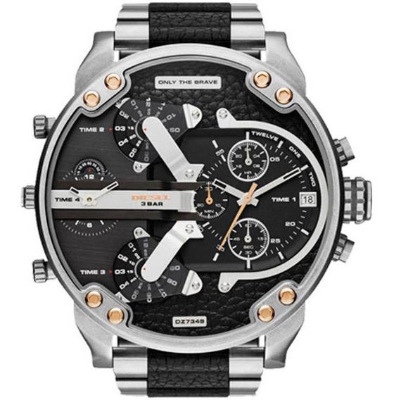Relógio Diesel Masculino Mr Daddy Cronógrafo Dz7349/1pn