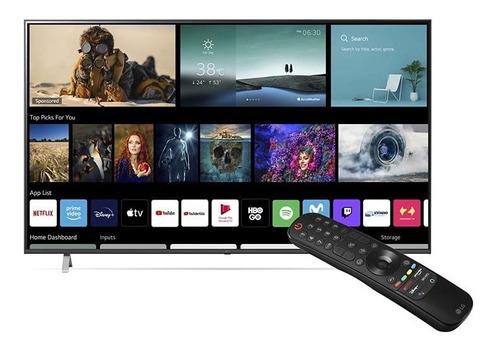 Imagen 1 de 7 de Televisor LG 2021 60up7750psb Uhd Ai Thinq Magic Remote Nfc