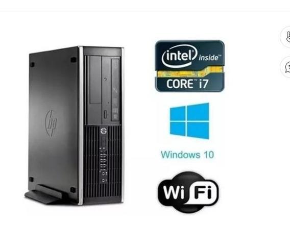 Hp Mini Cpu Core I7 -8 Ram Hd 1 Tera Hp Computador Ótimo Uso