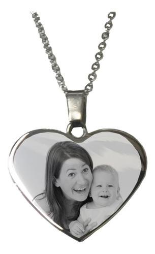 Medalla Personalizada Con Foto En Acero Quirúrgico