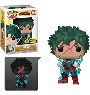 Funko Pop My Hero Academia Deku Full Cowl Glow 596 Ee Exclus