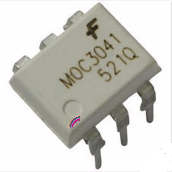 Moc3041 Moc 3041 Optoacoplador Cerrado Dip6