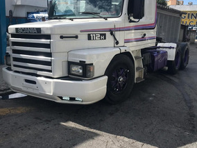 Scania 112 H Truck Carreta Tanque