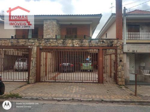 Sobrado Com 4 Dormitórios À Venda, 201 M² Por R$ 1.300.000,00 - Jardim Regina - São Paulo/sp - So2154