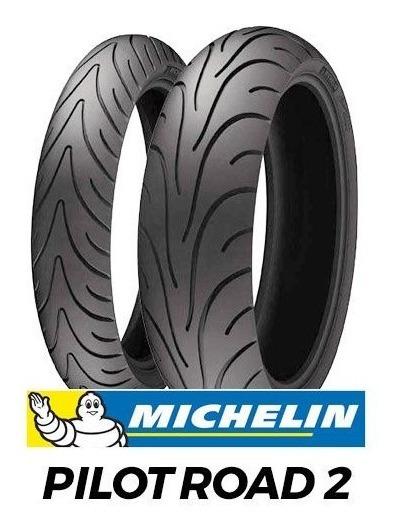 Pneu 190/50-17 Original Michelin Pilot Road 2 Novo Aro 17