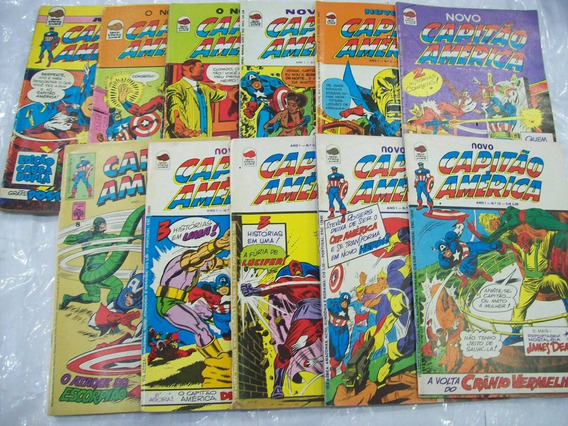Novo Capitão América Ano I - 11 Volumes