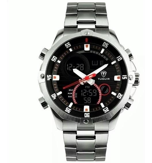 Relógio Masculino Tuguir Anadigi Tg1146 Promoção Original