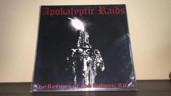 Lp Vinil Apokalyptic Raids - The Return Of The Satanic Rites