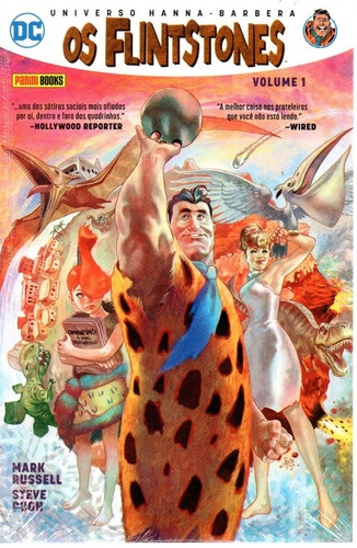 Os Flintstones 01 - Panini 1 - Bonellihq Cx207 N20