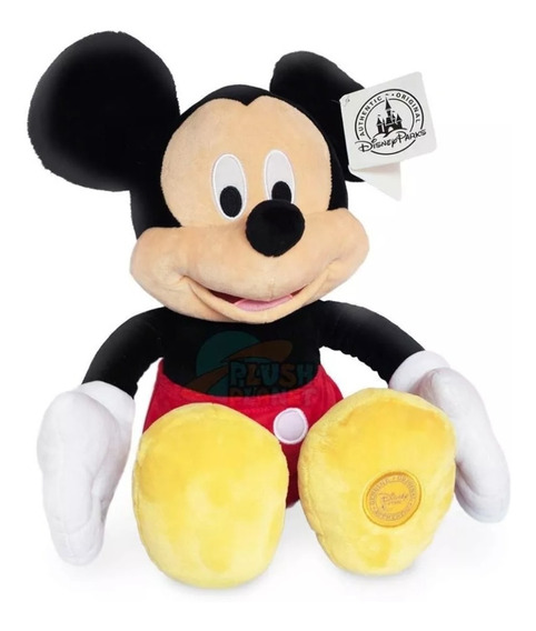 Mickey E Minnie - 45cm - Com Selo De Originalidade!