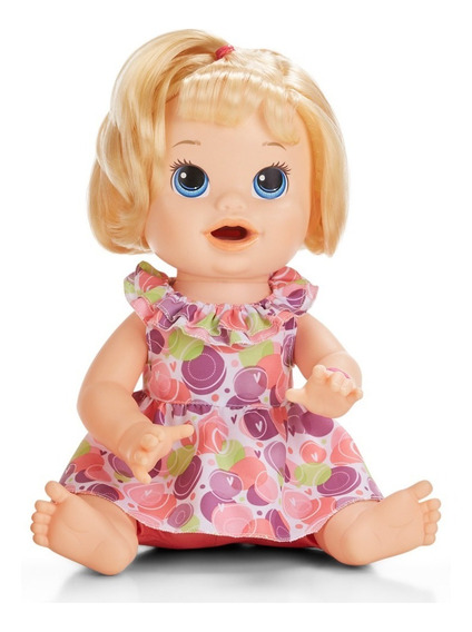 Boneca Baby Alive - Comilona - Loira - E3403 - Hasbro