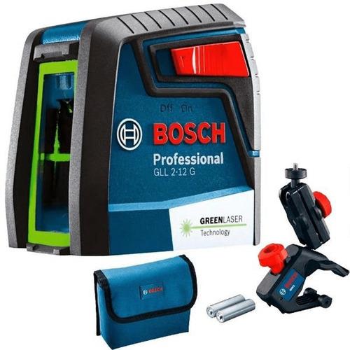 Imagen 1 de 2 de Nivel Laser Autonivelante Bosch Gll 2-12g *laser Verde*