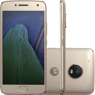 Motorola Moto G5 Plus Tv Xt1683 32gb 4g Dourado Vitrine