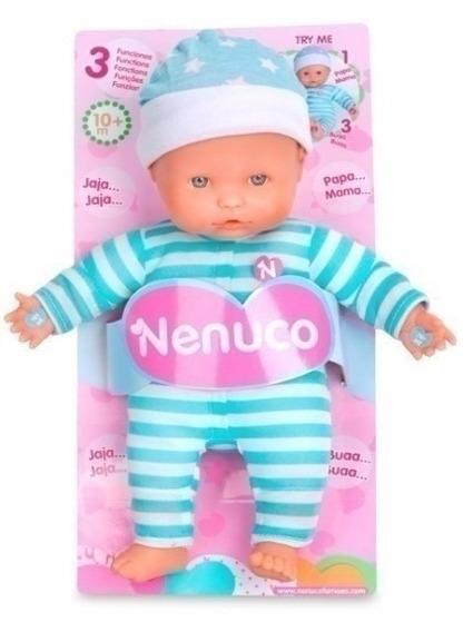 Nenuco Baby 3 Funciones Azul