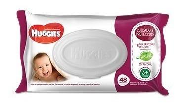 Huggies Wipes Cuidado Y Protec 48 Toallitas Humedas X 18 Paq