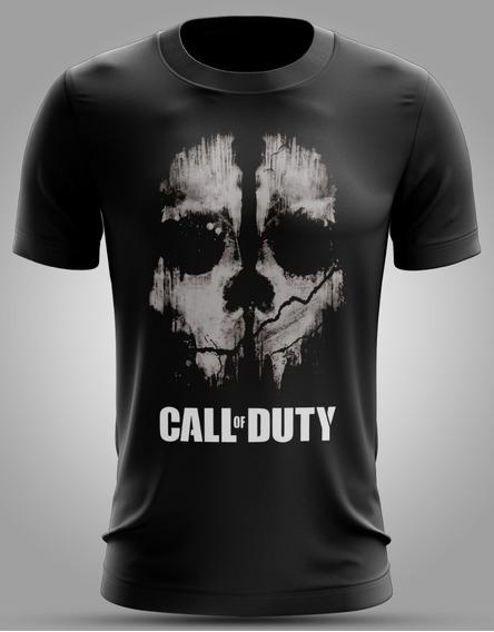 Camisa Do Jogo Call Of Duty
