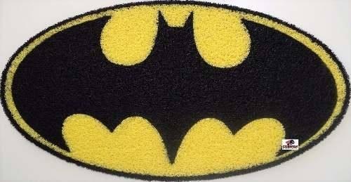 Tapete Capacho Personalizado Batman - Oval - 100 X 60