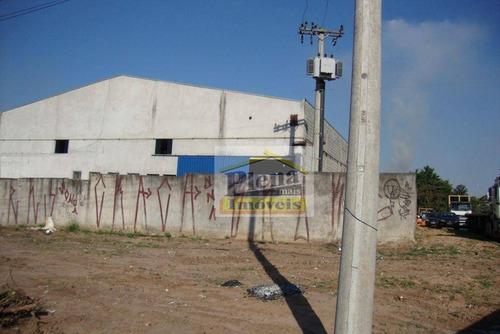 Barracão Comercial À Venda, Jardim Boa Vista, Hortolândia. - Ba0120