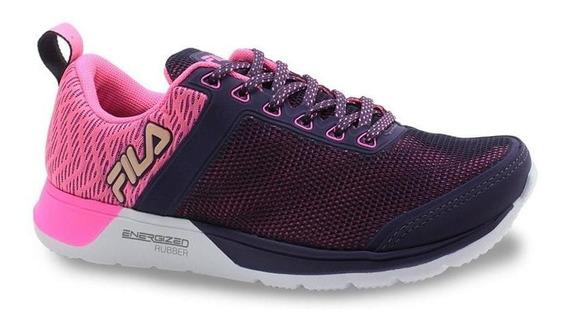 Fila Zapatillas Mujer - Fxt Cross Violeta Rosa