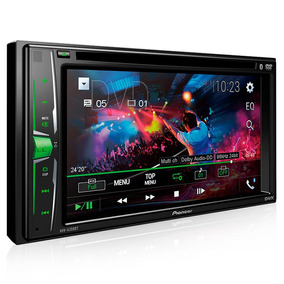 Dvd Automotivo Pioneer Avh- A 208bt 6.2 Pol Bluetooth Usb